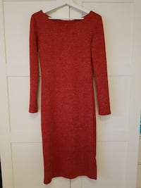 Red dress, size L