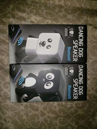 black and white dancing puppy bluetooth speaker  Washington