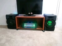 black and green stereo component Lorton