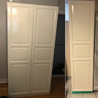 2 piece IKEA Pax wardrobe - excellent condition (as pictured) Toronto, M8W