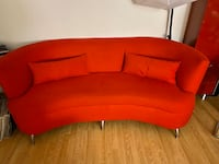 Red sofa and love seat w/two end tables Laurel, 20724