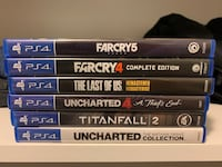 PS4 Games in Perfect condition, prices are firm.