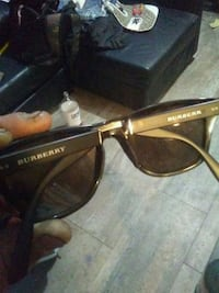 black framed Ray-Ban wayfarer sunglasses Surrey