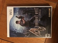 Resident Evil 4 wii edition Alexandria, 22311