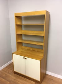 brown wooden shelf with cabinet Abbotsford, V2T 2H3