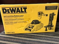 Dewalt DW074KD Self-Leveling Rotary Laser Level Kit - New Las Vegas, 89103
