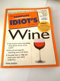 The Complete Idiots Guide to Wine! Book Toronto