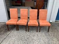Kitchen table Chairs  Columbia