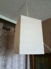 Ikea hanging lamp with cord