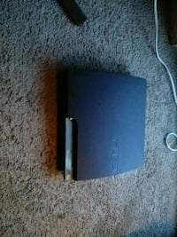 black Sony PS3 slim console Washington, 20019