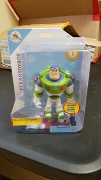 Buzz Lightyear action figure with box