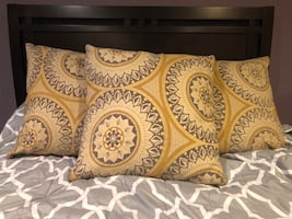 3 Decorative Pillows from Pier One