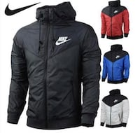 Nike windbreaker 5 colors size small to 3XL 40$ each or 3/100$ Montréal, H1G 2Z7