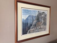 "Brent townsend limited edition numbered print. ""ragged rock""   framed and museum mounted. Mississauga, L5N 5J2"