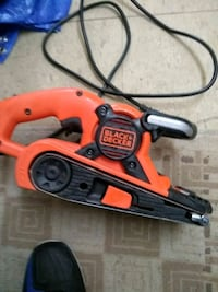 red and black Black & Decker corded angle grinder Saint Thomas, N5P 1T1