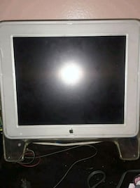 white HP flat screen monitor New York, 10009