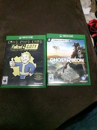 Fallout 4 & Ghost recon xbox one Beaumont, T4X