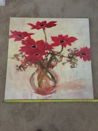 red and white flowers painting Frederick, 21701