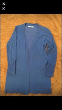 Beautiful blue cardigan /sweater ladies size small  Calgary, T3K 6E8