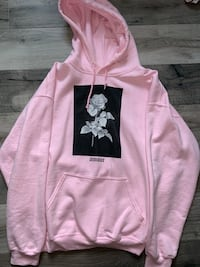 """Pink Rose """"Amour"""" Hoodie (L) New Westminster, V3M 6C9"""