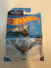 Hot wheels guardians of the galaxy Milano screen times marvel diecast