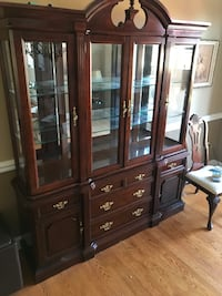 Two piece China cabinet Naperville, 60564