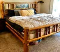 Custom built King/California King wooden bed frame!! Grimsby, L3M 0G9