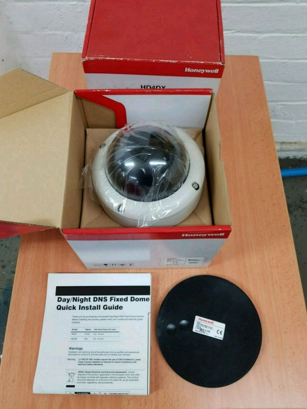 Honeywell security camera new in box rrp £220