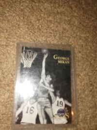 george mikan trading card collection Baltimore, 21213