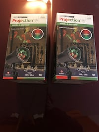 2 holiday Projectors plug in NEW  Derwood, 20855