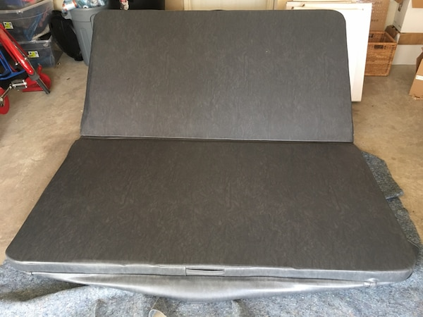 Hot tub cover 80 x 74 inches 4 to 3 taper, never used. Paid 600. a38f23fc-70c9-4820-a0e0-20f04b8072ce