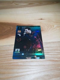 Stort Limited edition Messi kort UCL