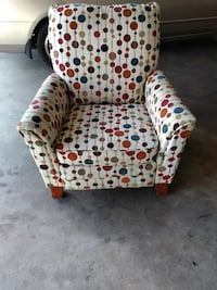 and brown leopard print sofa chair