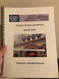 Toronto studies and stories textbook