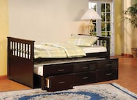 WE HAVE 3 TRUNDLE BEDS IN BRAND NEW BOXES
