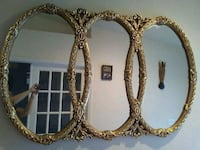 three gold-colored framed mirrors Cape Coral, 33904