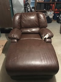 Leather chaise lounge chair Reno, 89502