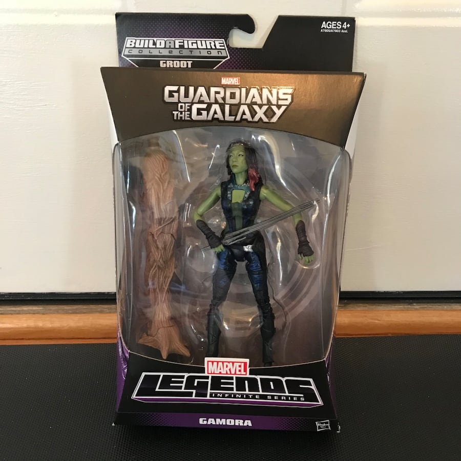 NEW Gamora Guardians of the Galaxy toy figure figurine marvel