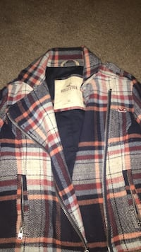 red, white, and blue plaid Hollister sport shirt Knoxville, 37917