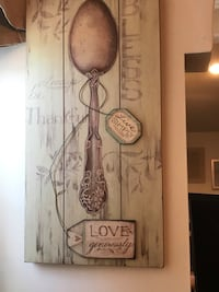 2 Available...Beautiful Kitchen Wall Art 14x20 Brentwood, 20722