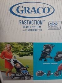 Graco fastaction travel system stroller n carseat