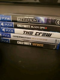 assorted-title Sony PS4 game case lot Brantford, N3T 4G7