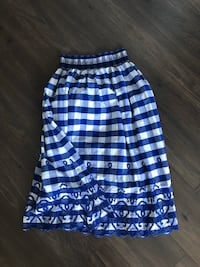 Zara checkered skirt Toronto, M5S 1B2