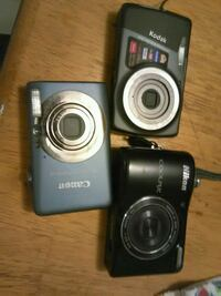 black Nikon Coolpix point-and-shoot camera Edmonton, T5T 6J4