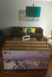 "55"" LG 4K UHD HDR Smart TV, True to Life Color. Surround Mode Brand New Upper Marlboro, 20772"