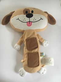 Seat Pets Car Seat Toy As Seen on TV - Tan Dog/Puppy FULL SIZE Coram, 11727