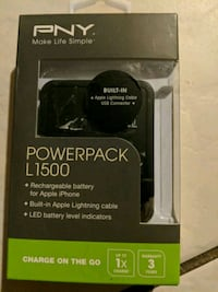 PNY i phone power pack ..L 1500 Niagara-on-the-Lake, L0S 1J0