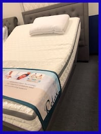 Queen Size Adjustable Sleep System Hickory