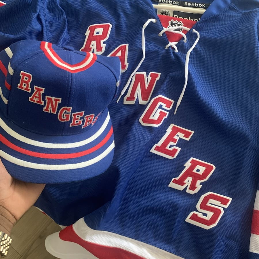 Nash Rangers jersey and matching vintage SnapBack