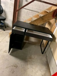 Small desk, minor scratches, sold as is.